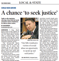 A Chance To Seek Justice